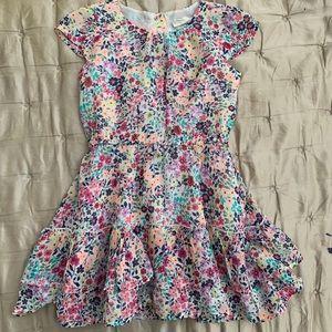 Crazy 8 Toddler Little Girl Size 5 Floral Dress
